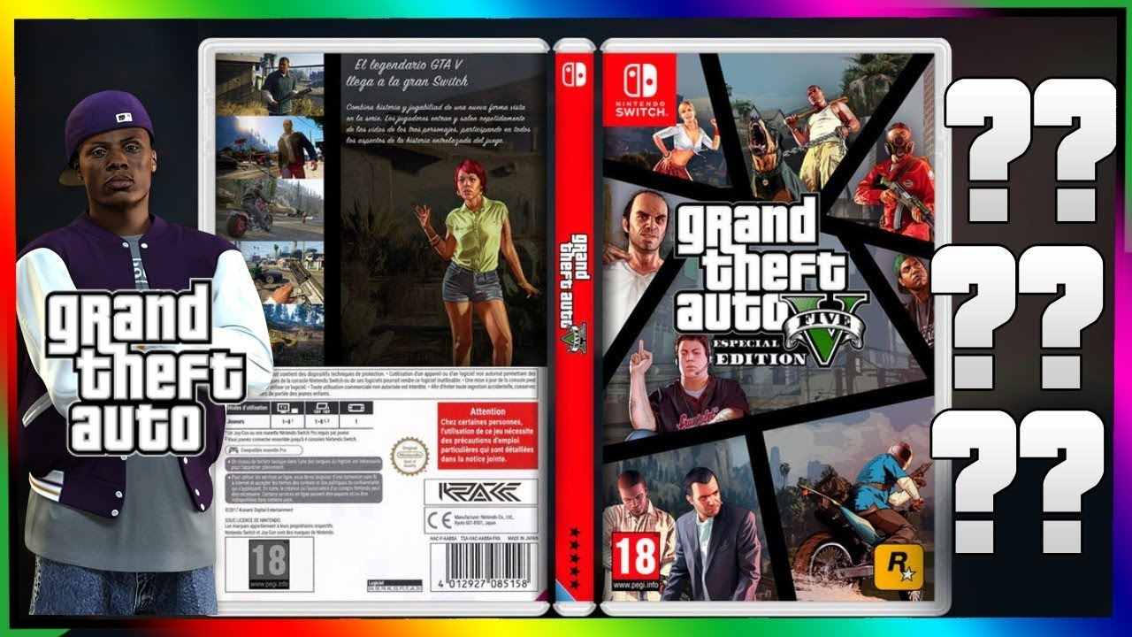 Saldra Grand Theft Auto 5 Para Nintendo Switch Opinion 2018 Youtube