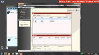 Set up RAID on Buffalo Two-Drive LinkStation or TeraStation NAS