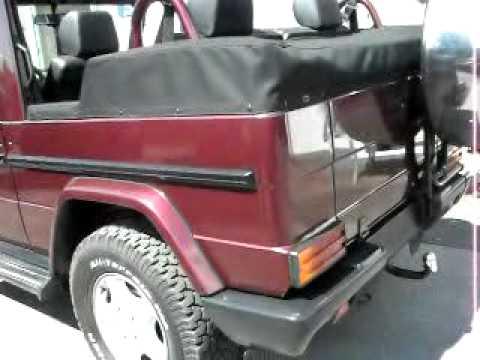 G 320 cabrio ottensmeier offroad youtube for Ottensmeier