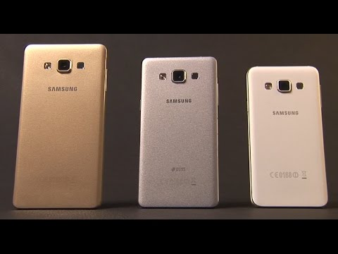 samsung galaxy a series a3 a5 a7 youtube. Black Bedroom Furniture Sets. Home Design Ideas