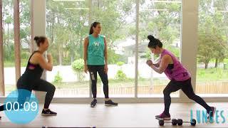 13   Fitness Test 2 wth Sarah, Mel and Sam