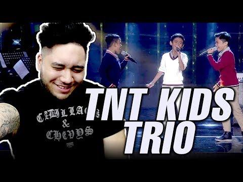 Little Big Shots Philippines: Mackie, Keifer & Francis | TNT Kids Trio REACTION!!!