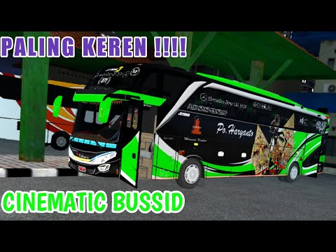 Video Cinematic BUSSID Terkeren - Plus livery po. Haryanto 071 wayang bima - BUSSID - 동영상