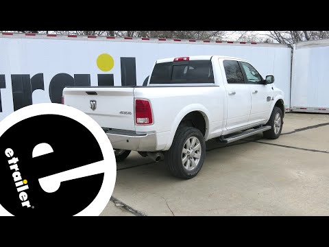 etrailer | B and W Gooseneck Trailer Hitch Installation - 2015 Ram 2500