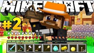 СТРОИМ СВОЮ ДЕРЕВНЮ В МАЙНКРАФТЕ - Minecraft Колония #2