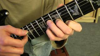 Cours de guitare - The Scorpions : Still Loving You (1/3) Démo + Intro