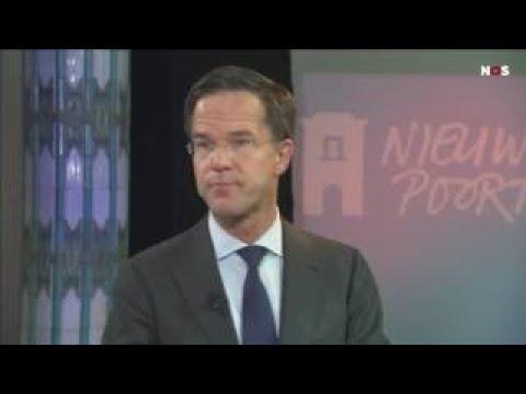 Actueel nieuws Premier Rutte over Geert Wilders