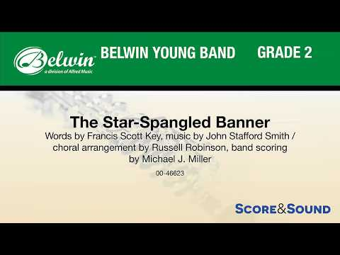 The Star-Spangled Banner (for Band and Optional Choir) – Score & Sound