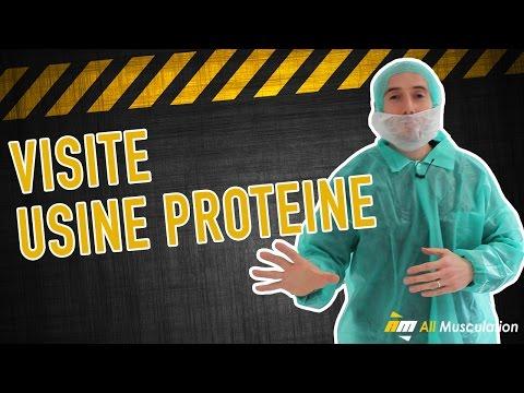 Visite usine de fabrication de protéines française par Jean de All-Musculation