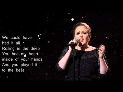 Adele - Rolling in the Deep (Lyrics)