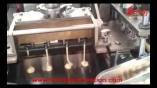 automatic wafer roll machine