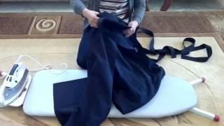 Как гладить хакаму
