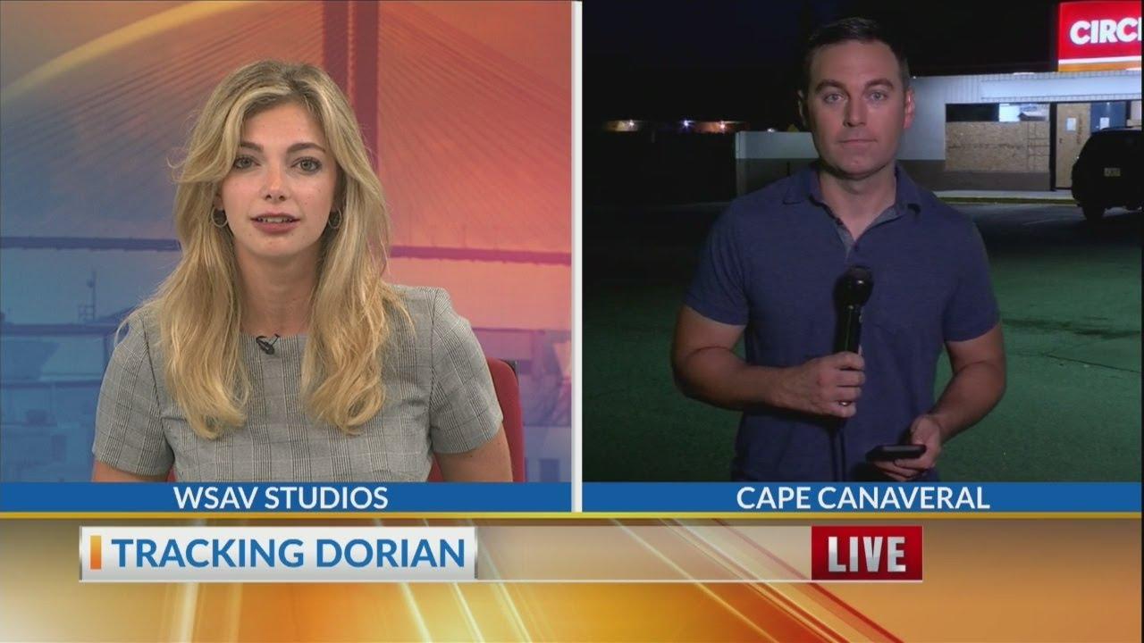 Hurricane Dorian Update in Cape Canaveral