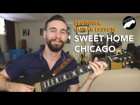 Beginner Blues Guitar Lesson -