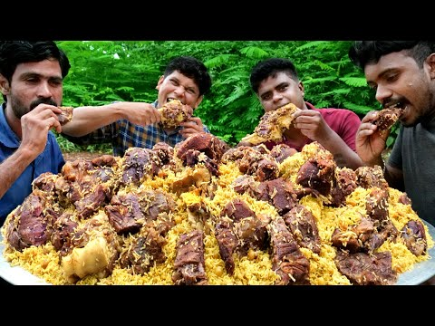 PESHAWARI CHAWAL   Pakistani GOLDEN PULAO Recipe   Cooking In Village