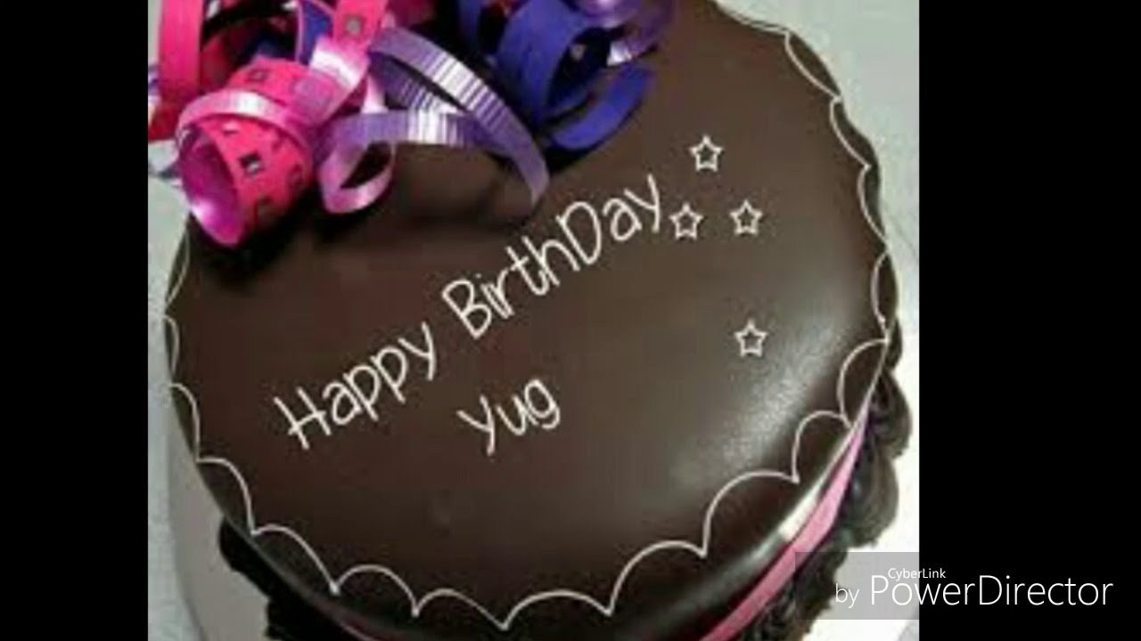 Happy Birthday Yuga Link For Those Whose Name Is Yug Youtube