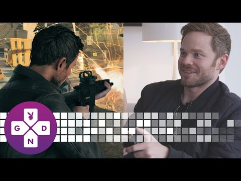 EXCLUSIVE Shawn Ashmore of Quantum Break Plays as Himself!  10 Minute Gameplay
