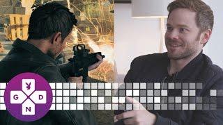 EXCLUSIVE Shawn Ashmore of Quantum Break Plays as Himself! | 10 Minute Gameplay