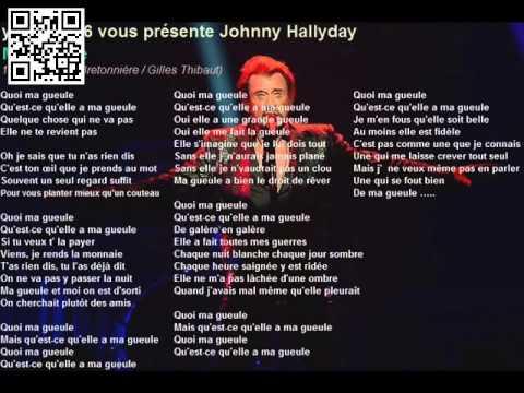 Johnny Hallyday - Ma gueule