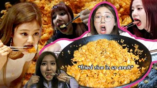 i try cooking BLACKPINK&#39s Kimchi Fried Rice!!!