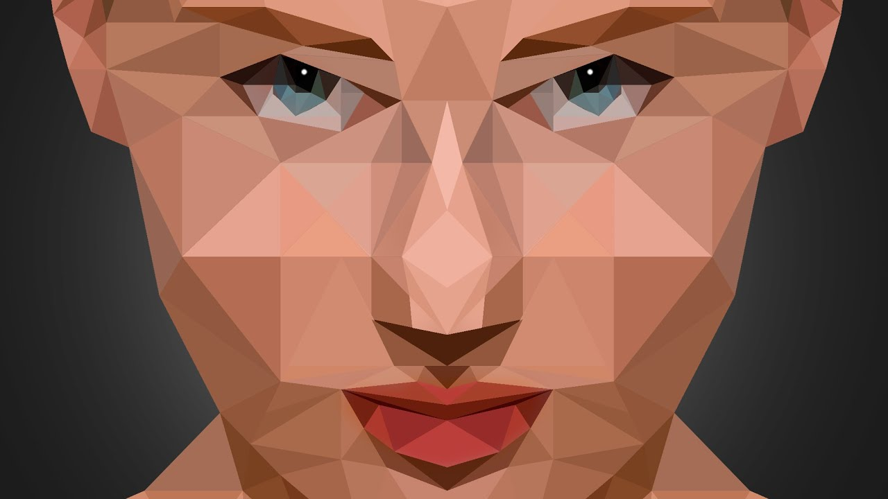 Low poly portrait effect photoshop tutorial photo effects low poly portrait effect photoshop tutorial photo effects youtube baditri Choice Image