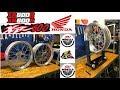 HONDA XR 600 R Supermotard wheels.. STV wheels