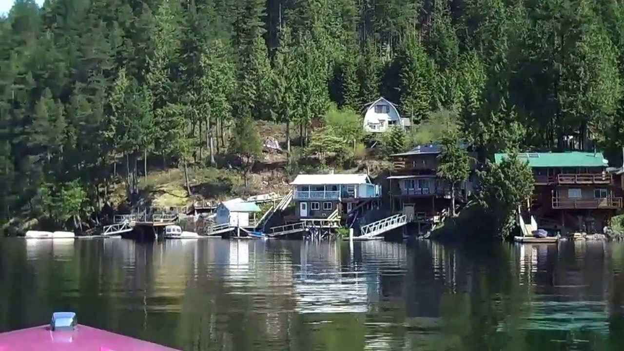 Pitt Lake Waterfront Cabins For Sale Youtube
