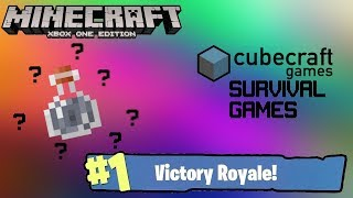WHERE IS THE GUY!?!?   Minecraft Xbox One Edition   Cubecraft/Mineplex Survival Gmes