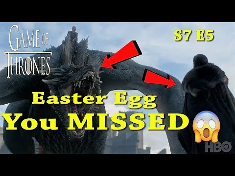 Easter Eggs You Missed-Game Of Thrones 7x05 Trailer Season 7 Episode 5 Promo Preview