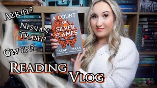 A Court of Silver Flames | Reading Vlog