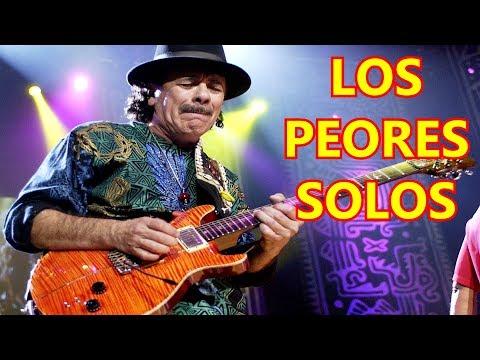 Los 10 PEORES Solos De Guitarra De La Historia