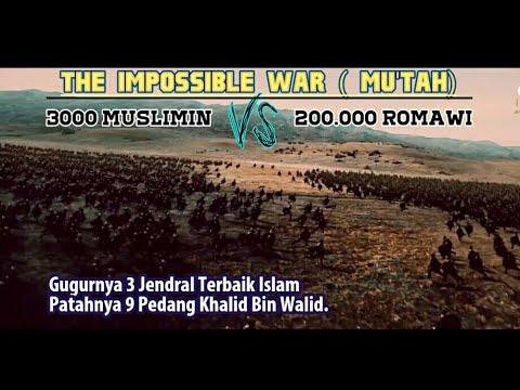 Sejarah Perang Mu'tah, Perang Paling Tidak Logis Yang Dicatat Sejarah. 3000 Melawan 200 000.