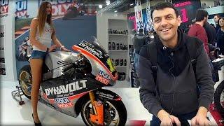 İstanbul Motosiklet Fuarı Hızlı tur  / Motoexpo 2017 Vlog 1