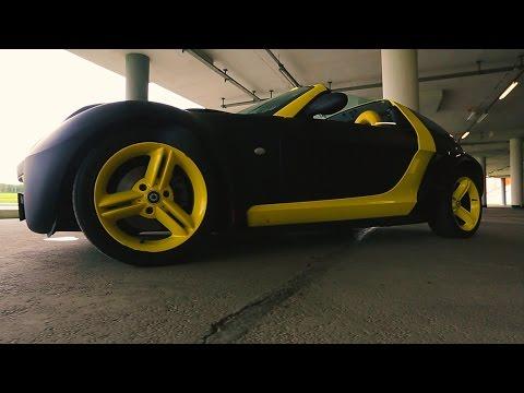 """Smart Roadster - городская """"гонка"""""""