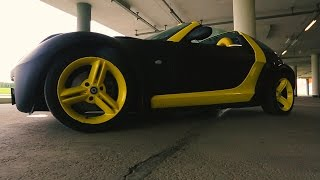 Smart Roadster - городская 'гонка'
