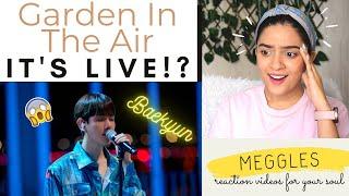 """FIRST TIME reacting to a Baekhyun LIVE - """"Garden in The Air"""" (BOA) Cover by Baekhyun (EXO)"""