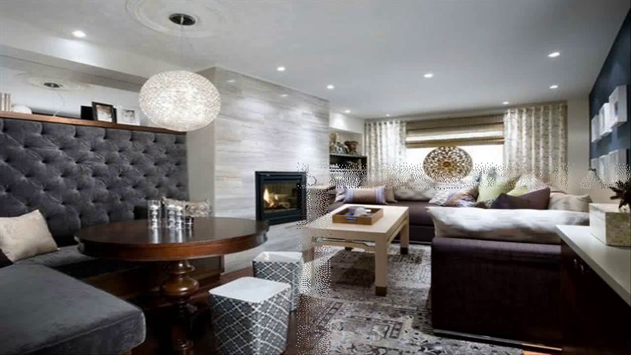 Candice Olson Living Rooms Grey Room With Leather Sofa Designs Youtube