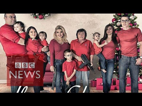 Assemblywoman Michele Fiore: Firearms are 'fabulous' gifts - BBC News