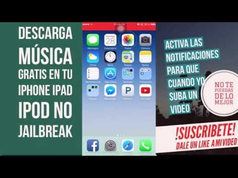 Como descargar música gratis en tu iPhone, iPad, iPod No pc. No jailbreak iOS 9.3.3