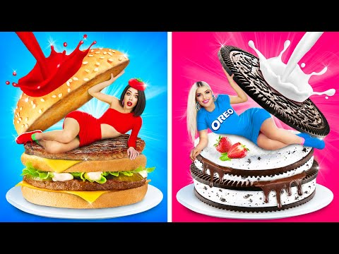 If Foods Were People | 8 Funniest Moments and Ideas with Food by RATATA