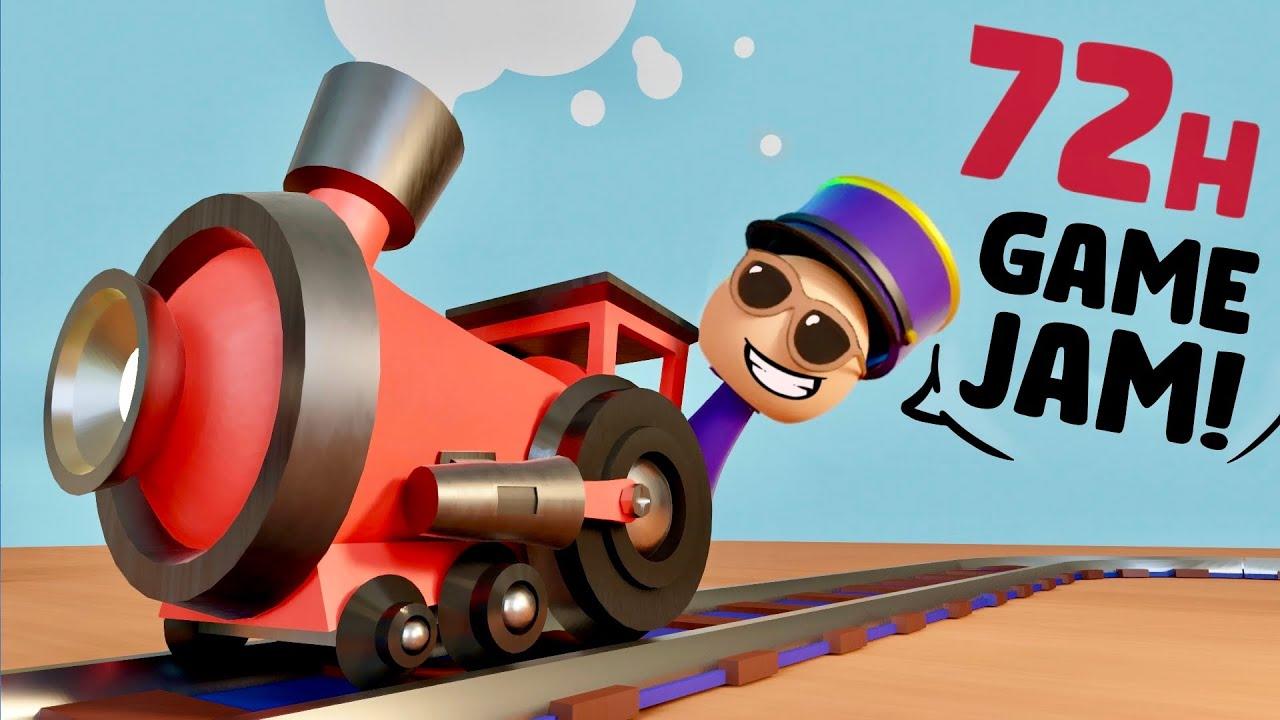"""Making Of: """"Train Troubles"""" - Ludum Dare 47"""