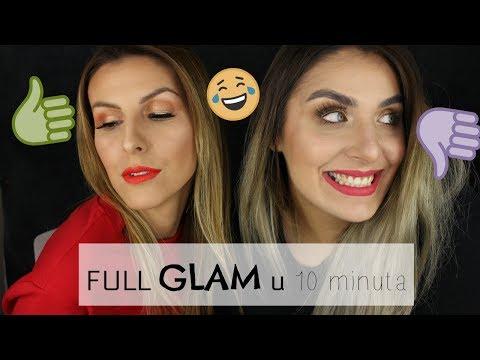FULL GLAM makeup u 10 MINUTA💄 w Ivana Blažoti Mijoč ⌛
