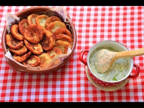 Kroketi od krompira / Sos od mirođije / Kako iskoristiti pire krompir/ Škola kuvanja