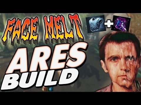 Smite: Face melt Ares Build - I HAVE 2 ITEMS AND I DID ALL HIS HEALTH!