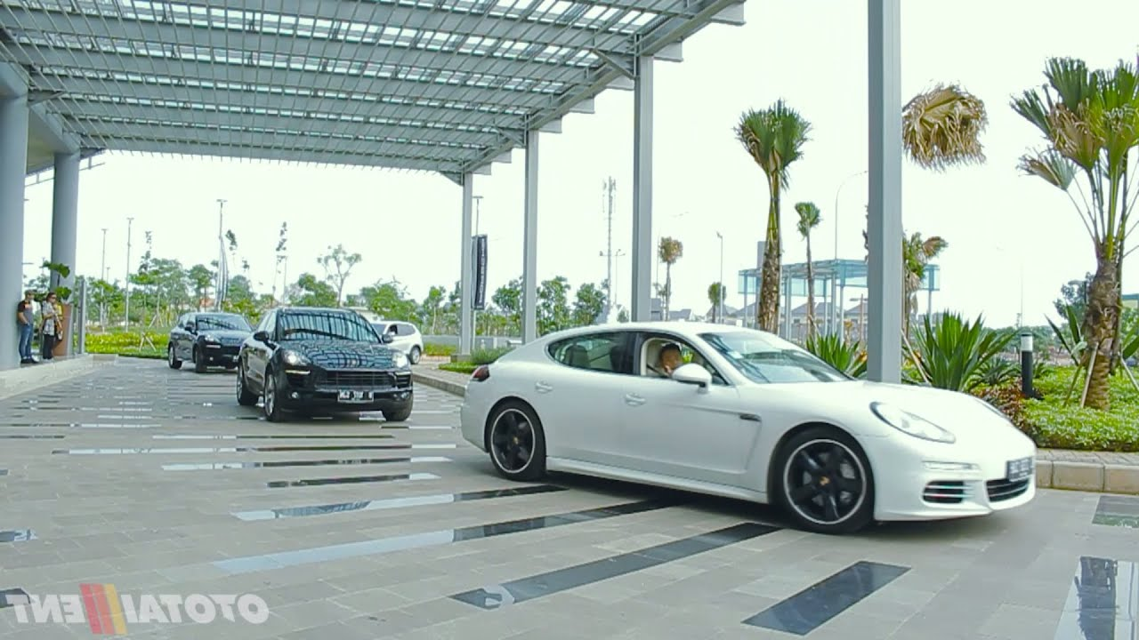 Porsche Driving Experience Indonesia 2015  YouTube