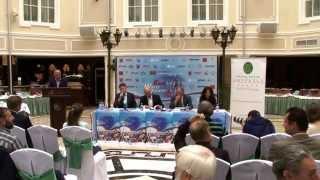 """XXV Международный марафон """"Эрго Белые Ночи"""" 2014 - Пресс-конференция"""