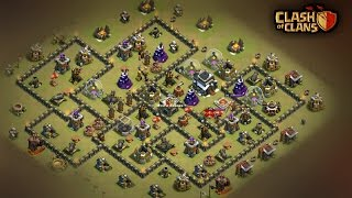 """How to 3 Star This POPULAR """"Th9 ANTI GOBOLALOON BASE"""" with DIFFERENT Strategy   Clash Of Clans"""