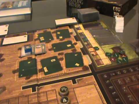 Founding Fathers Boardgame Review