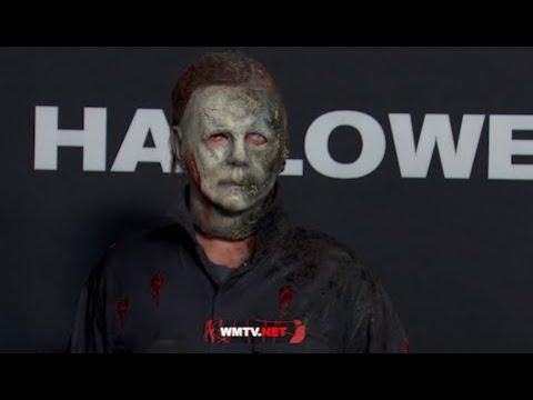 'Halloween Kills' Costume Party Premiere - Jamie Lee Curtis, Nick Castle, James Jude Courtney