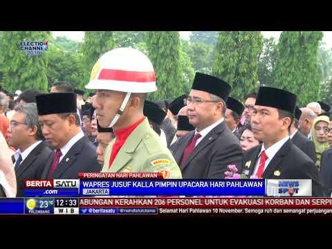JK Pimpin Upacara Hari Pahlawan di TMP Kalibata Mp3